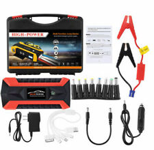 89800mAh Car Jump Starter Pack Booster LCD 4 USB Charger Battery Power Bank&New