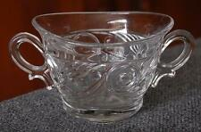 """LOVELY VINTAGE HEISEY """"IPSWICH"""" TWO HANDLED SUGAR BOWL"""