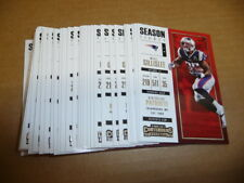 2017 Panini Contenders MIKE GILLISLEE BASE LOT OF 30 CARDS PATRIOTS #98