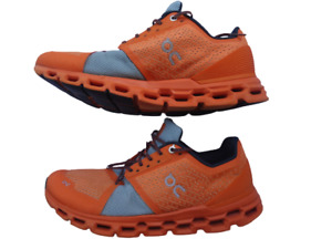 On Cloud Cloudswift Helion orange trainers UK 8.5