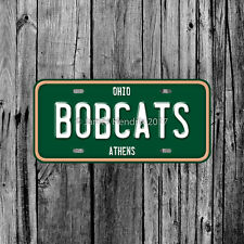 Ohio University Bobcats Athens License Plate