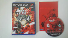 METAL SLUG 5 - SONY PLAYSTATION 2 - JEU PS2 COMPLET