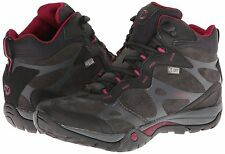 Womens New Merrell Azura Carex Mid Waterproof Shoes Size 9.5 Color Black