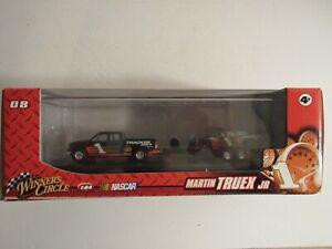 2009 #1 Martin Truex Jr Winners Circle Truck and Trailer 1/64 NASCAR Diecast