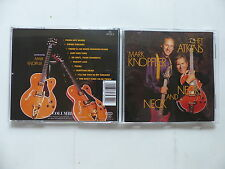 CD Album MARK KNOPFLER & CHET ATKINS Neck and neck 467435 2