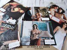 Maruschka Detmers LE DIABLE AU CORPS !  rare jeu 12 photos cinema sexy erotique