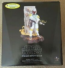 Star Wars GG MAQUETTE Animated BOBA FETT Han Solo Carbonite Bounty Gentle Giant