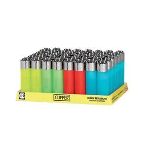 48 Mecheros CLIPPER  pocket  colores , accendini,  Feuerzeuge , briquets, neu