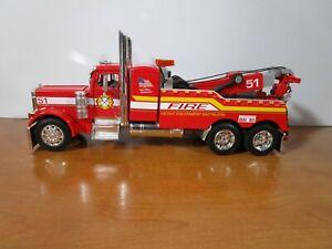 JADA 1/32 RED PETERBILT 379 FIRE TOW TRUCK WRECKER *VHTF* USED NICE *READ*