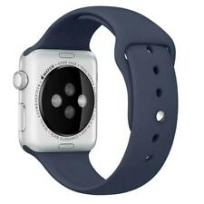 Silicone Band Strap for Apple Watch iWatch Series 6/5/4/3/2/1, 44/42/40/38mm SE