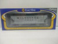 ExactRail Platinum PS-2CD 4427 Covered Hopper Milwaukee Road MILW #98403 HO- NIB