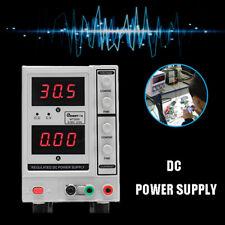 30V 5A DC Power Supply Adjustable Variable Dual Digital Lab Test Bench Equipment