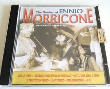 THE GENIUS OF ENNIO MORRICONE CD ALBUM RACCOLTA COLONNE SONORE FILM BEST OF