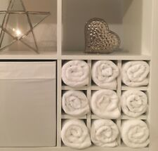 Towel Rack Storage Holder Insert For Ikea Kallax / Expedit Unit White Salon