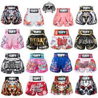 TUFF Muay Thai Boxing Shorts Kick MMA Men Women Gym Sports Fight Pants Trunk 6U