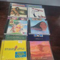CD Lot of 12 Kids Movie Soundtracks Lion King Shrek Pocahontas Tarzan Pooh Stuar