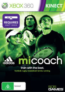 miCoach Xbox360 Xbox 360 Game Factory Sealed AU version
