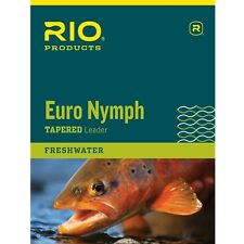 NEW RIO PRODUCTS EURO NYMPH LEADER  fly fishing european nymphing
