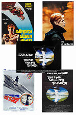 THE MAN WHO FELL TO EARTH - SET OF 5 - A4 POSTER PRINTS # 1
