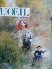 Revue L'Oeil N°66 Salon de Mai Miniature Elizabethaine Lipchitz Impressionnisme