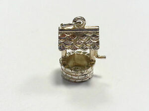 Sterling Silver Charm Vintage Wishing Well