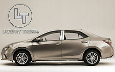 Toyota Corolla Stainless Steel Chrome Pillar Posts by Luxury Trims 2014 (6pcs)