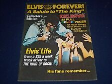 1977 ELVIS FOREVER A SALUTE TO THE KING MAGAZINE - ELVIS PRESLEY - II 9050