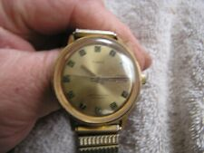 Vintage Timex Watch Telephone Dial Automatic