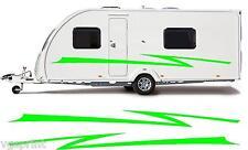 camping-car / Caravane VINYL Graphique Kit Stickers autocollant rayures #98xxl