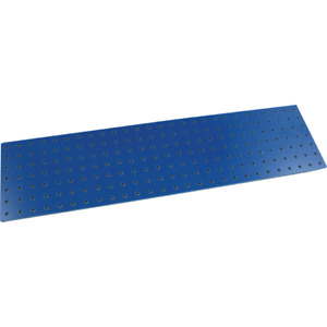 """Turret Board, Blank, 189 Holes, 10-1/8"""" x 2-5/8"""", Color: Blue"""
