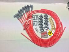 SBS BBC CHEVY SPARK PLUG LEADS IGNITION LEADS 8.5MM 90 DEGREE red  female leads