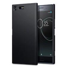 Gomma indurita Slim Armour Cover Case per Sony Xperia XZ Premium-nero