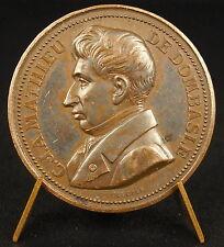 Médaille Mathieu de Dombasle agronome Chalon sur Saône Instrument aratoire medal
