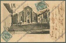 PAVIA PALESTRO 15 Cartolina VIAGGIATA 1907