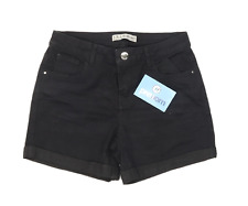 Womens Denim Co Black Denim Shorts Size 8/L3