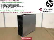 HP Z620 Workstation Xeon E5-2660 2.20GHz 128GB RAM 1TB 7.2K SATA Quadro NVS 300