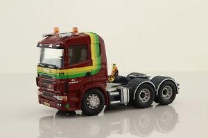 Corgi CC12208; Scania 4 Series; Cab Unit Only, Van Der Wiel; V Good Unboxed