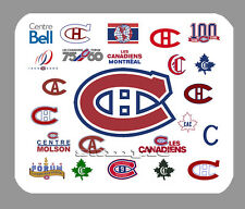 Item#880 Montreal Canadiens Logo Art Mouse Pad