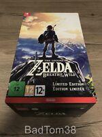 The Legend Of Zelda Breath Of Wild Edition Collector Limitée (boîte vide)