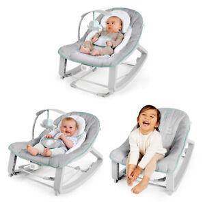 Ingenuity Keep Cozy 3-in-1 65cm Baby Grow w/ Me Bounce/Rocker Seat 0m+ Weaver