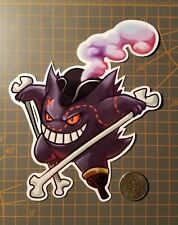 Pokemon Gengar Pirate Sticker