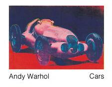 ANDY WARHOL - Mercedes W 125 (1937) Art Print Poster Benz 35x27