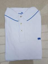 BNIP Men's Savile Row Piqué Short Sleeve Polo Shirt M White Perfect Man Present!