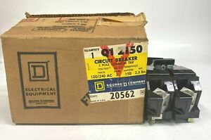 SQUARE D Q12150 2 POLE COMMON TRIP BREAKER 120/240VAC 150AMP