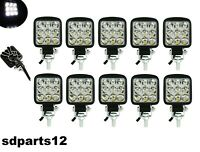 10 Fari Slim Supplementare Profondità Auto Fuoristrada Jeep 12/24v 9Led 27w Ip67
