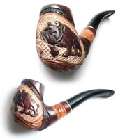 """PEAR Brand New BEST OFFER! HUGE TOBACCO SMOKING PIPE /""""ANCHOR/"""" 228"""