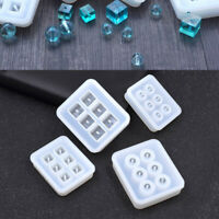 Silicone DIY Beads Mold Bracelet Pendant Jewelry Making Mould Resin Craft