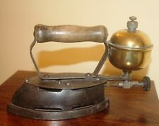 More details for coleman's gas sad iron, cast iron & brass-2.30 kg