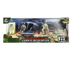 World Peacekeepers Combat Helicopter Playset With 2 Figures