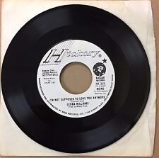 "LEONA WILLIAMS I'M SUPPOSED TO LOVE YOU ANYMORE USA 7"" WHITE LABEL PROMO"